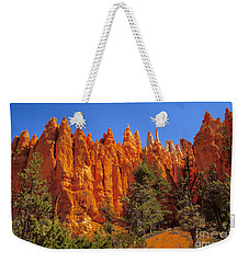 Hoodoos Along The Trail Weekender Tote Bag by Robert Bales