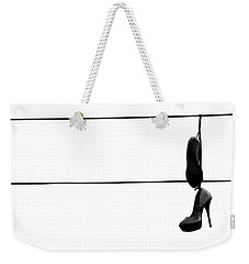 Hooked And Booked  Weekender Tote Bag