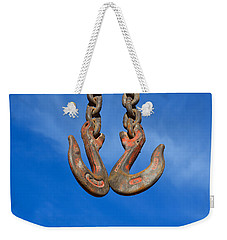 Hooked - Photography By William Patrick And Sharon Cummings Weekender Tote Bag by Sharon Cummings