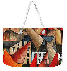 Hookers Cubes In The Long Walk Galway Weekender Tote Bag