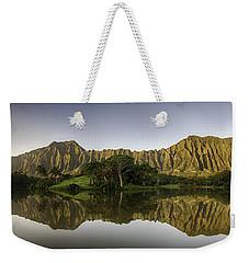 Hoomaluhia Sunrise Weekender Tote Bag
