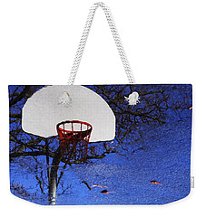 Hoop Dreams Weekender Tote Bag by Jason Politte