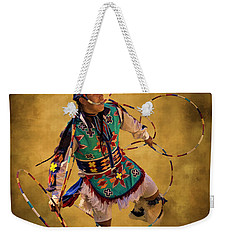 Hooping His Heart Out Weekender Tote Bag by Priscilla Burgers