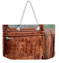 Weekender Tote Bag featuring the photograph Hop In by Lynn Sprowl