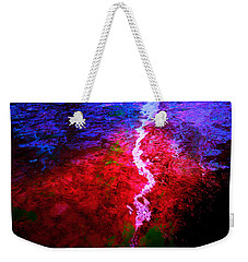 Weekender Tote Bag featuring the digital art Hope For A Broken Heart - Healing Art by Absinthe Art By Michelle LeAnn Scott