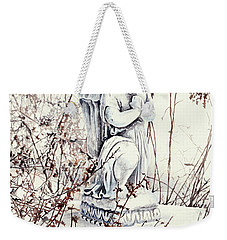 Hope In Winter Weekender Tote Bag