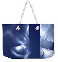 Weekender Tote Bag featuring the digital art Hope by Menega Sabidussi