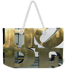 Weekender Tote Bag featuring the photograph Hope Squared by Greg Allore