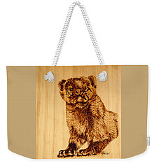 Hope's Marten Weekender Tote Bag by Ron Haist