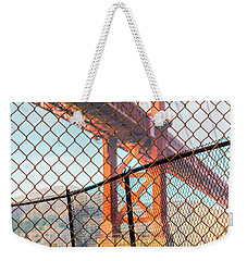 Hoppers Hands Weekender Tote Bag by Jerry Fornarotto