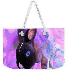 Hoppy Easter Weekender Tote Bag by Mike Breau