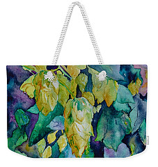 Hops Weekender Tote Bag by Beverley Harper Tinsley