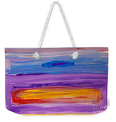 Horizontal Landscape After Rothko Weekender Tote Bag