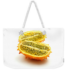 Horned Melon Weekender Tote Bag by Fabrizio Troiani