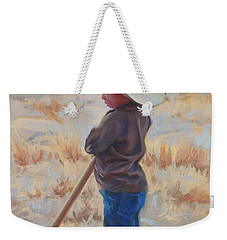 Horse And Rider Weekender Tote Bag