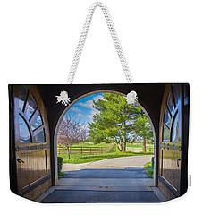 Horse Barn Weekender Tote Bag