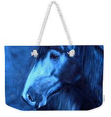 Horse - Carol In Indigo Weekender Tote Bag