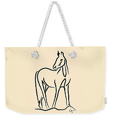 Horse - Grace Weekender Tote Bag