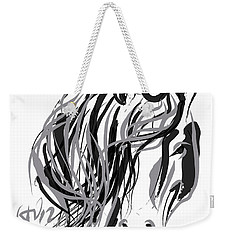 Horse- Hair And Horse Weekender Tote Bag