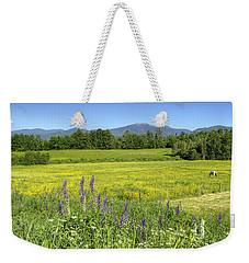 Horse In Buttercup Field Weekender Tote Bag