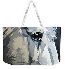 Horse Look Closer Weekender Tote Bag