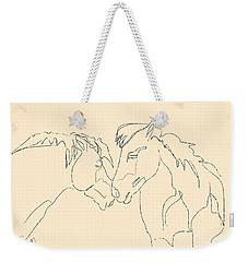 Horse - Together 3 Weekender Tote Bag