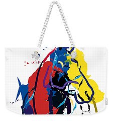 Horse- Zam Weekender Tote Bag