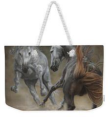 Horseplay II Weekender Tote Bag