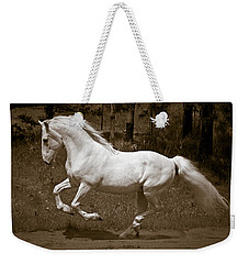 Horsepower Weekender Tote Bag by Wes and Dotty Weber