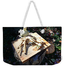 Horseradish In The Fall Weekender Tote Bag