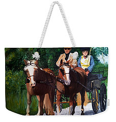Sunday Afternoon Drive Weekender Tote Bag