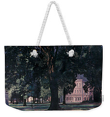 Horseshoe At University Of South Carolina Mural Weekender Tote Bag by Blue Sky