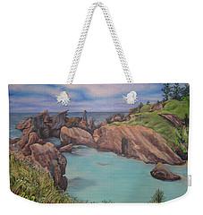 Horseshoe Bay Beach Bermuda Weekender Tote Bag