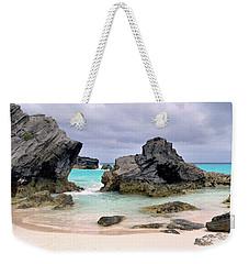 Horseshoe Beach In Bermuda Weekender Tote Bag