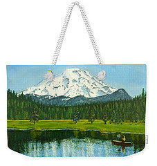 Hosmer Lake Weekender Tote Bag