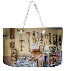 Weekender Tote Bag featuring the photograph Hospital Museum by Adrian Evans