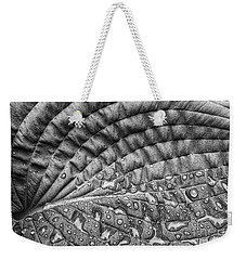 Hosta Leaf Weekender Tote Bag