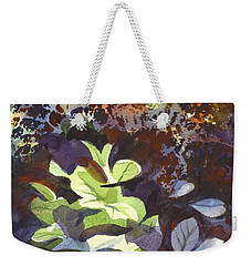 Hostas In The Forest Weekender Tote Bag