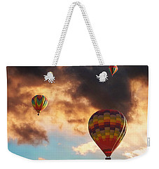Hot Air Balloons - Chasing The Horizon Weekender Tote Bag