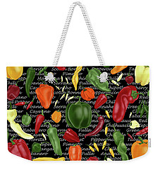 Hot For Chilis Weekender Tote Bag