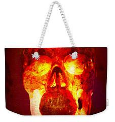 Hot Headed Skull Weekender Tote Bag