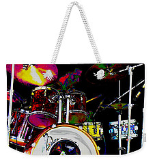 Hot Licks Drummer Weekender Tote Bag