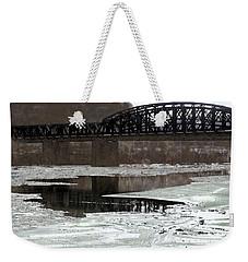 Hot Metal Bridge Weekender Tote Bag