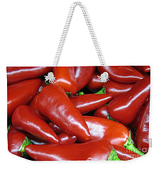 Hot Or Not Weekender Tote Bag by Janice Westerberg