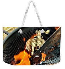 Hot Ride Weekender Tote Bag by Kae Cheatham