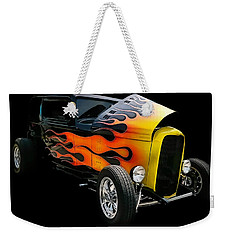 Weekender Tote Bag featuring the photograph Hot Rod by Victor Montgomery