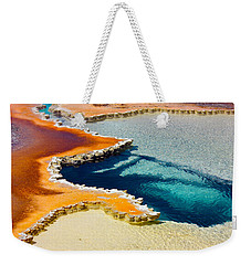 Hot Spring Perspective Weekender Tote Bag