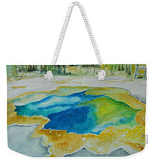 Hot Springs Yellowstone National Park Weekender Tote Bag