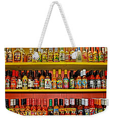 Hot Stuff Weekender Tote Bag by DJ Florek
