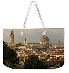 Hot Summer Afternoon In Florence Italy Weekender Tote Bag